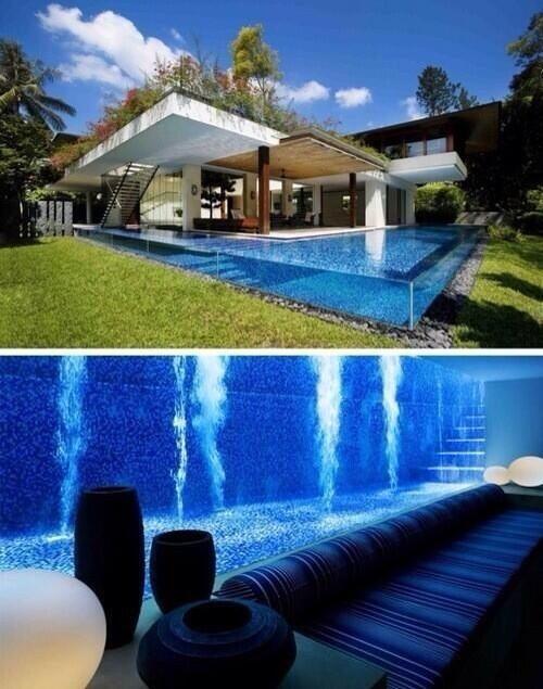 Pool Basement