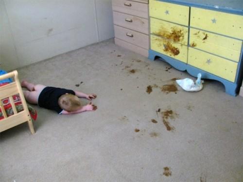 poop kid