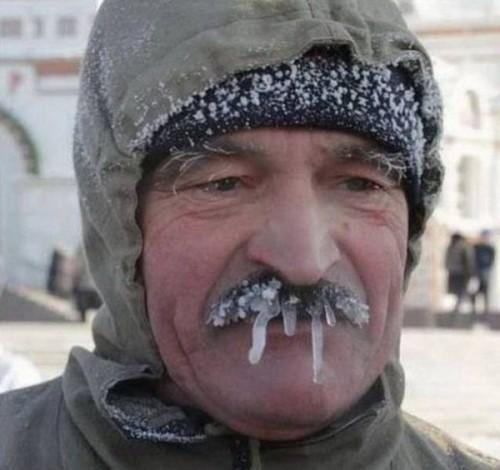 frozen snot