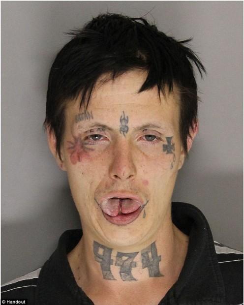 Murder Suspect Mug