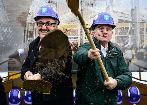 Zygi Wilf and Mark Dayton