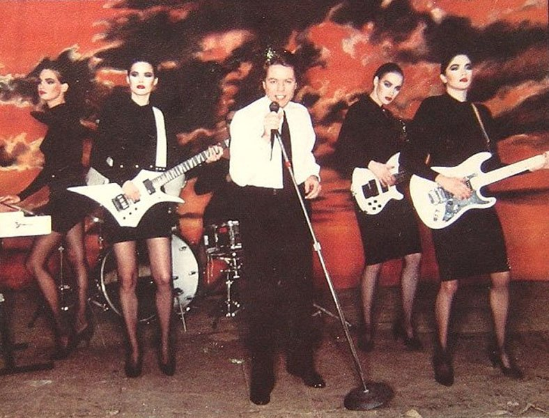 what the ladies from robert palmer s addicted to love