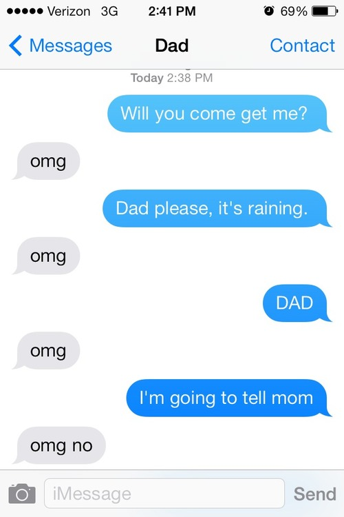 OMG dad