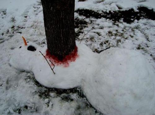 Snowman Death