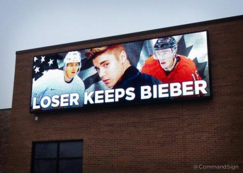 Stakes Raised in Canada-USA Olympic Hockey Game
