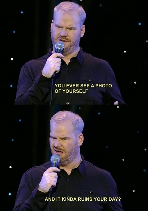 Gaffigan on photos