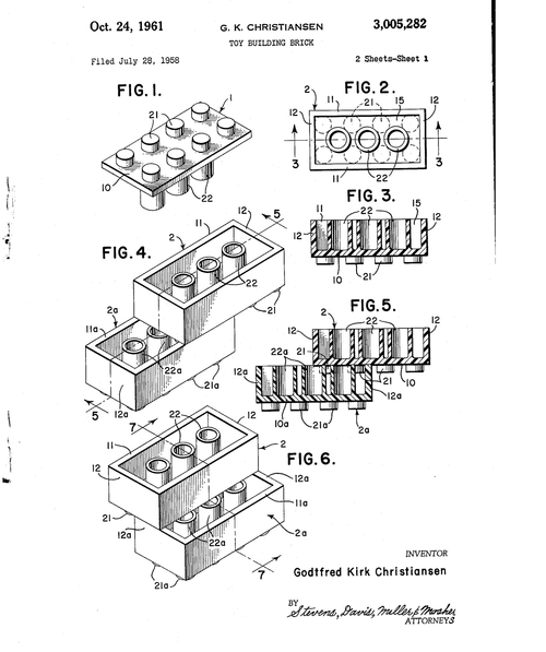 lego patent