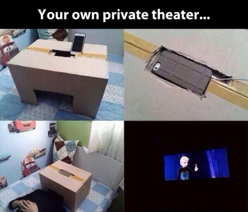 smartphone home theater box