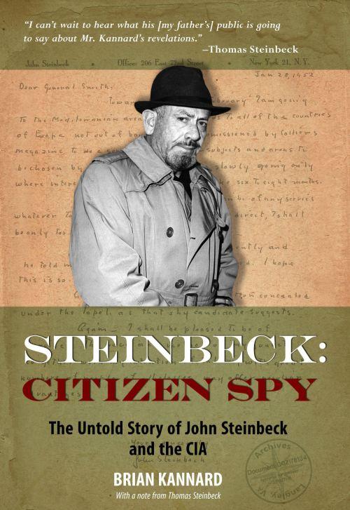 Steinbeck Citizen Spy Cover JPG