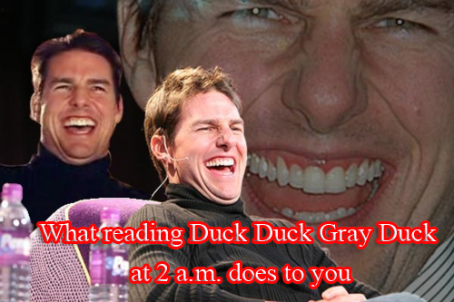 tom cruise laughing duck