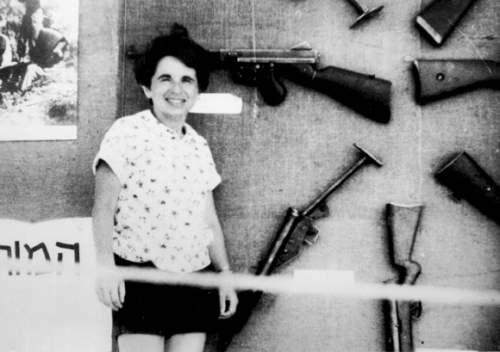 Dr. Ruth was trained as a sniper by the Israel Defense Forces.