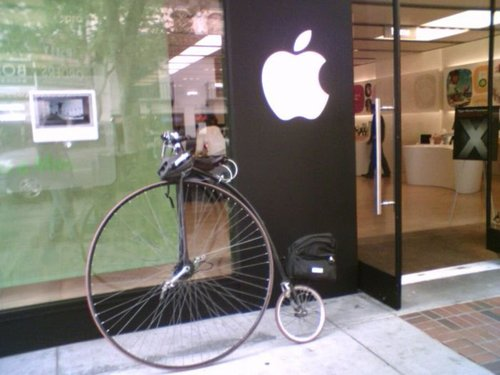 hipster bike apple