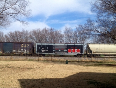 Nintendo Train Car