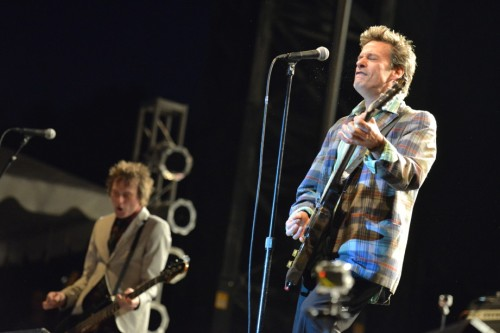 Tommy Stinson and Paul Westerberg playing their first show since 1991 as the Replacements in Toronto (Photos by Ben Clark)