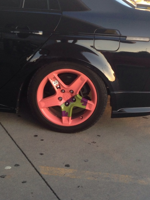 spongebob rims