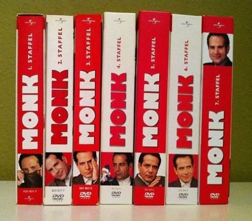 Monk DVD Collection