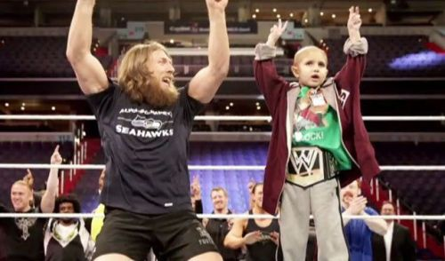 Daniel Bryan and connor