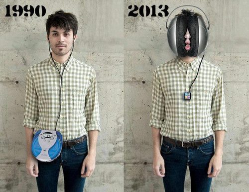 headphones evolution