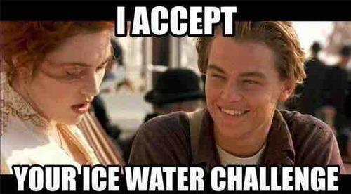 Leo Ice Bucket Challenge