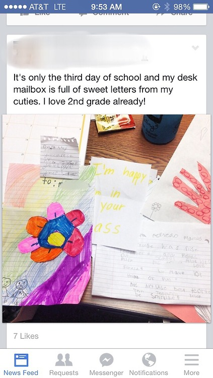letters from kids