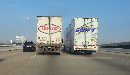 Taylor Swift Trucking