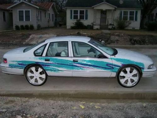 car paint job