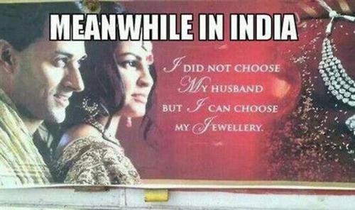 Jewelry Ad in India