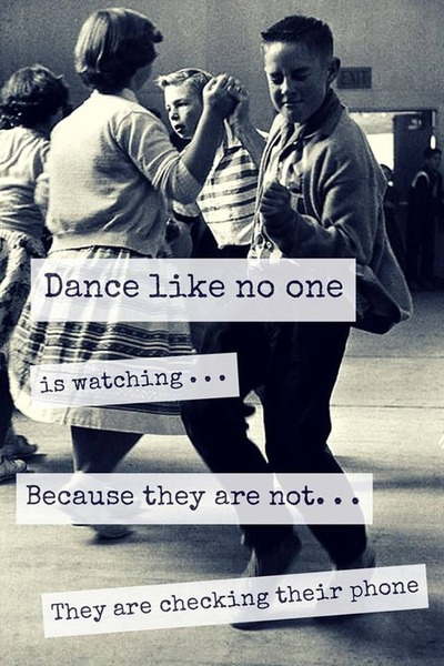 dance like no one is watching