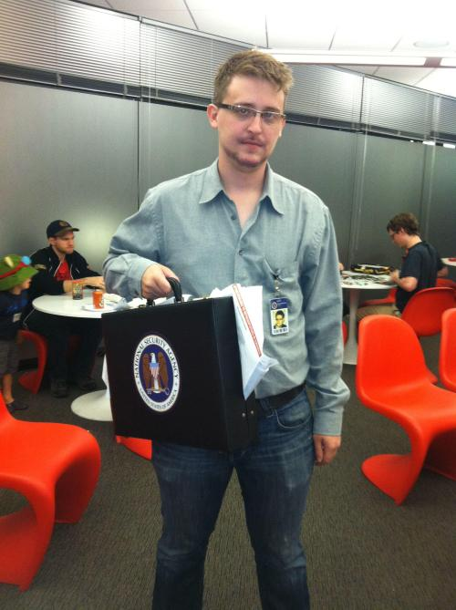 Edward Snowden Halloween Costume