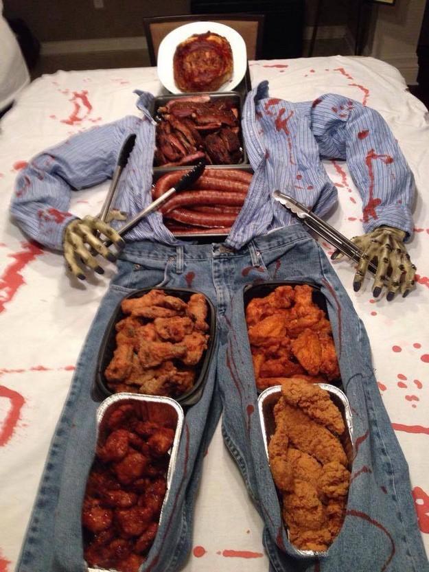 halloween buffet - Funny Halloween Recipes