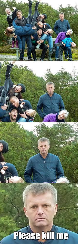 Family Photo Fun Time