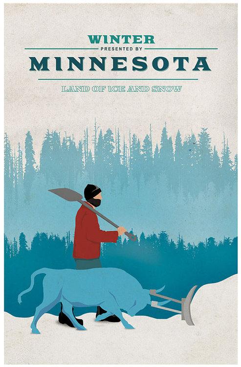 Minnesota - Land Of Ice And Snow by LifeLurking