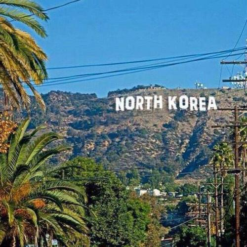 The Hollywood sign today