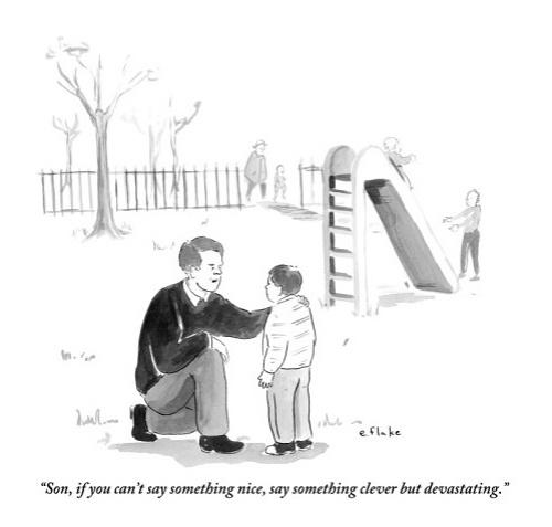 parenting say something nice