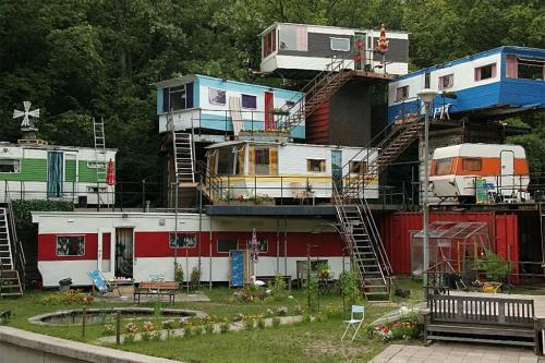 Redneck apartment complex