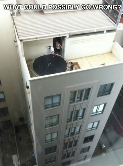 trampoline-on-roof