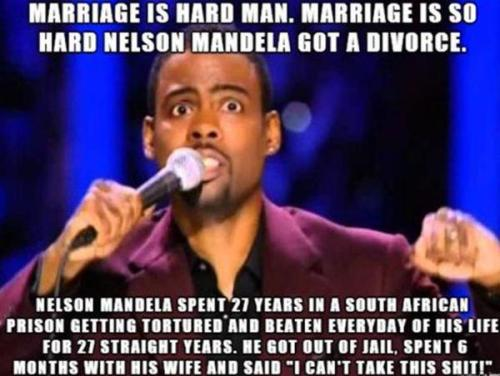 Chris Rock on Marriage