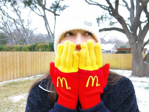 McDonald's French Fries Gloves