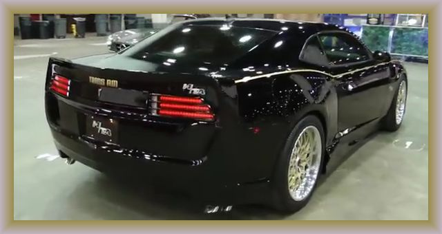You wont believe this is the new 2015 Pontiac Trans Am  Duck