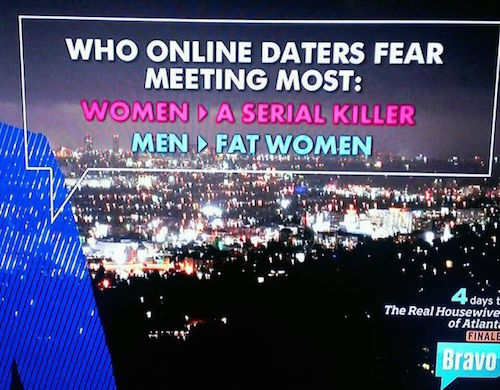 online dating fears