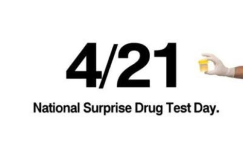 National surprise drug test day