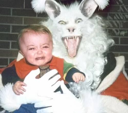 easter bunny fear