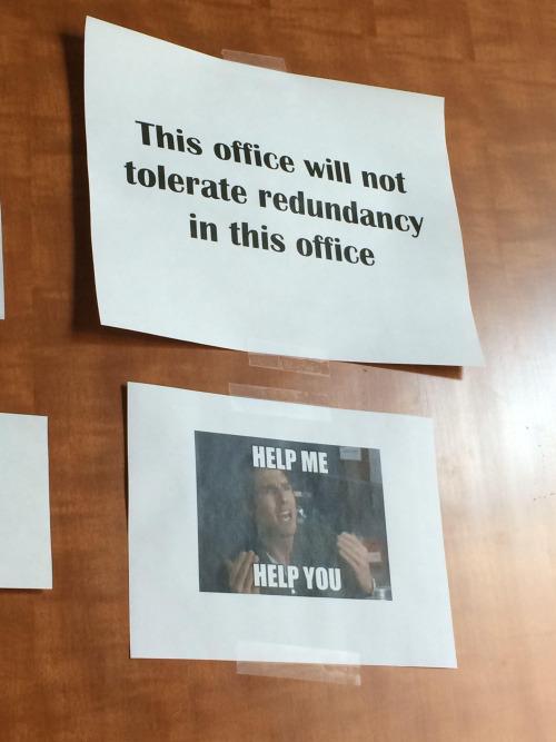 Redundant Redundancy
