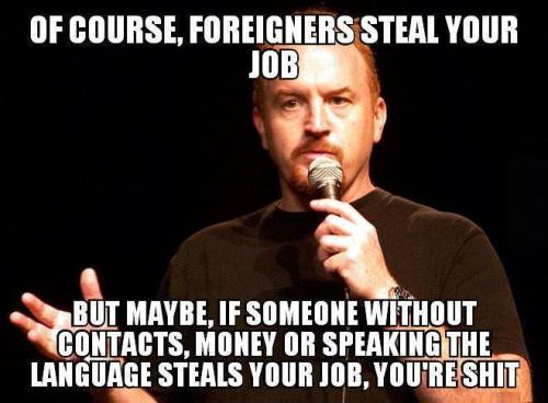 Louis C.K. on immigration