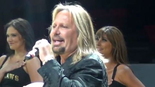 vince neil national anthem