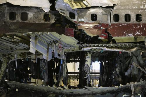 Wreckage of Flight 800 (Getty Images)