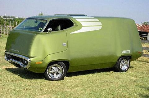 green van