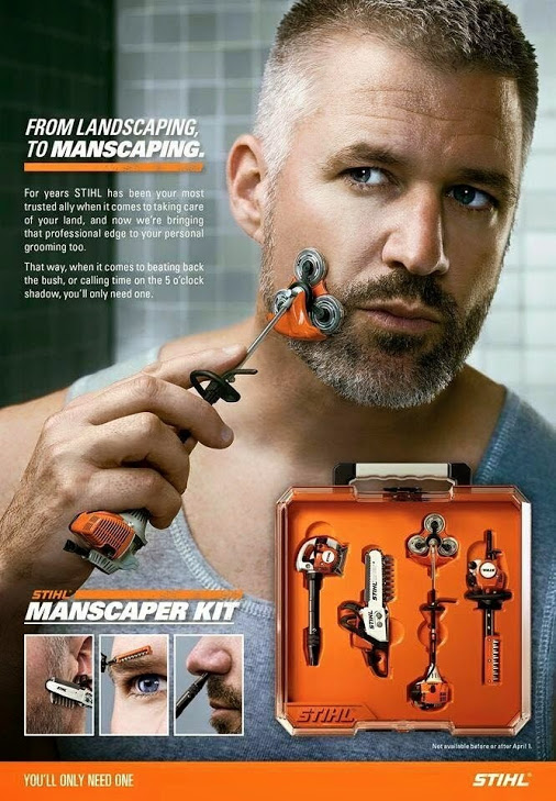 Stihl Manscaping Kit Duck Duck Gray Duck