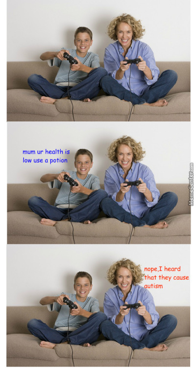 Gaming with your kids today