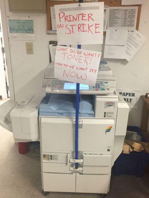 Printer Strike